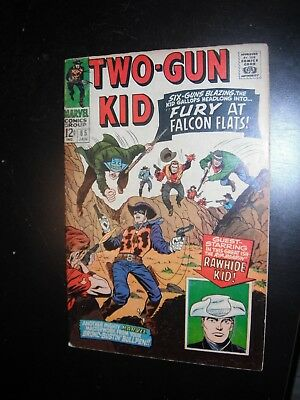 TWO-GUN KID #85 Marvel Comics 1967 SILVER AGE western