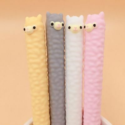 Lovely Cute Alpaca Gel Pen Student Stationery School Office Supplies Xmas Gifts