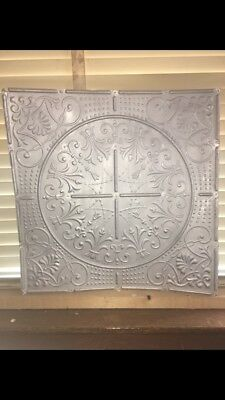 Antique 264 Sq Ft 2' X 2' Tin MetalCeiling Panels Tile Architectural Salvage Vtg