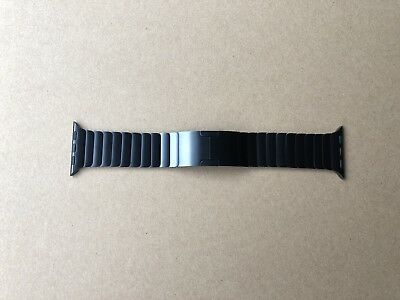 $549 Genuine Apple 38mm Space Gray Stainless Steel Link Bracelet Watch Band