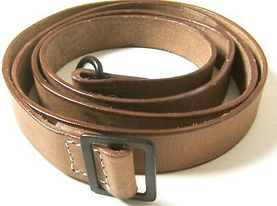 Wwi French Lebel 1890/92 1915 Rifle Leather Carry Sling