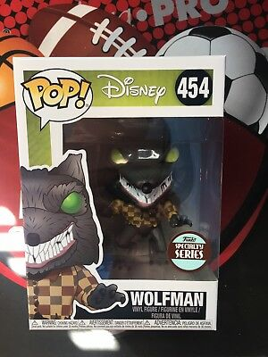 Funko POP! Disney - The Nightmare Before Christmas - Wolfman Specialty Series