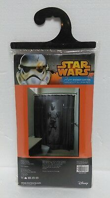 Star Wars Shower Curtain Han Solo in Carbonite.