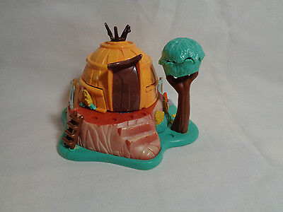 Vintage 1995 Bluebird Disney Polly Pocket Pocahontas Powhatan Playset