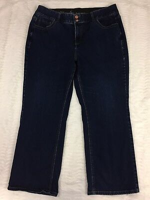 Lane Bryant Womens Jeans Size 20 Short Straight Leg Tighter Tummy Technology