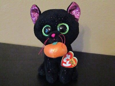 Ty Beanie Boos Potion The Cat New 6 Inches Rare Halloween 2018 In Hand Sale! 68f66eb1562