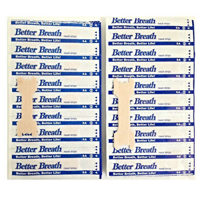 Brand New 5-1000 Good Breath Nasal Strips Reg Or Large Right Aid To Stop Snoring