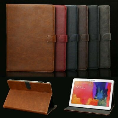 "Luxury Leather Smart Case Cover For Samsung Galaxy Tab A 10.5"" 8 E 9.6"" S4 S3 S2"