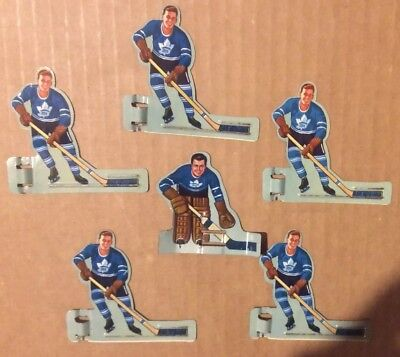 1950's Eagle Toys Table Hockey Players - Toronto Maple Leafs Nice Set