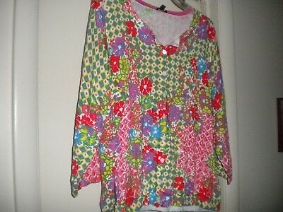 Talbots Cardigan 3XP – BRIGHT colors – pink, green, yellow, blue – NWT