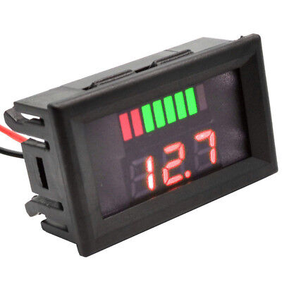 Accurate DC 12V-60V LED Panel Digital Voltage Volt Meter Display Voltmeter Tool