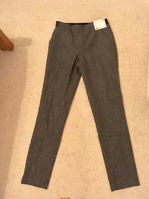 Grey Tweed Uniqlo Trousers XS Size 8