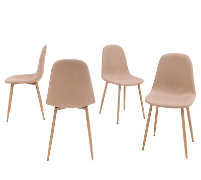 Mid Century Modern Style Dining Chair Side Metal Legs for Dining, Living Room