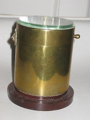 Vintage Antique Brass Camera Lens - Large