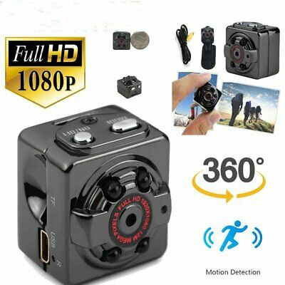 1080P Digital Mini Hidden Spy Camera HD Video Motion Activated Cam AU Stock