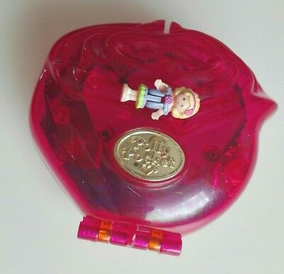 Polly Pocket Sweet Roses 1996 mit Figur