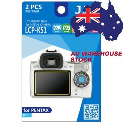 JJC LCP-KS1 LCD Film Camera Screen Protector for PENTAX K-S1 Guard Film _AU