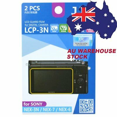 JJC LCP-3N LCD Guard Film Camera Screen Protector for Sony NEX 3N / 7 /6 _AU