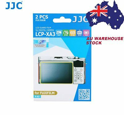 JJC LCP-XA3 LCD Screen Protector Protect Guard Film for FUJIFILM X-A3 Camera _AU