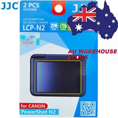 JJC LCP-N2 LCD Guard Film Camera Screen Protector for CANON PowerShot N2 _AU