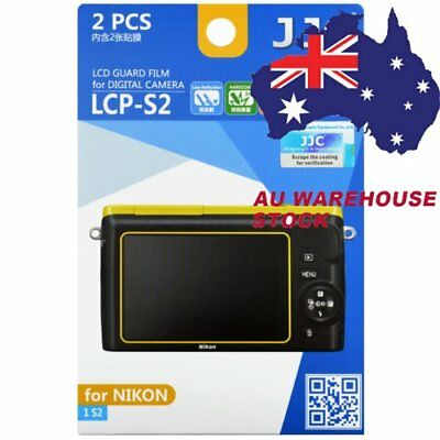 JJC LCP-S2 LCD Guard Film Camera Screen Display Protector for NIKON 1 S2 _AU