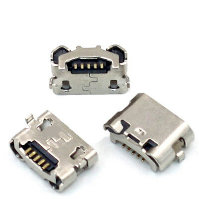 Micro USB 4 Pin Female Horns Reverse Socket 7.2/5.3mm SMT PCB Solder Connector