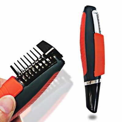 2 In 1 Male Switchblade Electric Shaver Grooming Remover Hair Trimmer