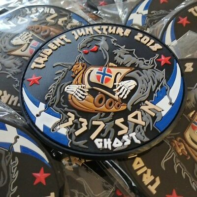 "Hellenic Air Force 337 Squadron ""Ghost"" 3D Pvc Patch"