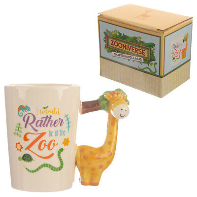 Collectable Shaped Handle Mug -  Giraffe