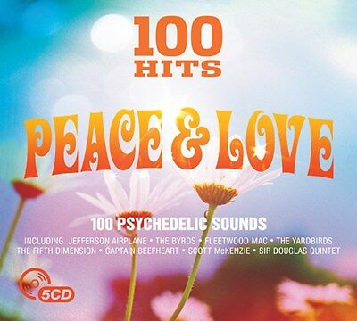 100 Hits: Peace & Love - Various Artists (Box Set) [CD]
