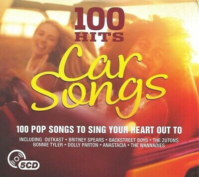 100 Hits: Car Songs - Various Artists (Box Set) [CD]