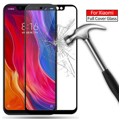 For Xiaomi Redmi Note 6 Pro 5D 9H Full Coverage Tempered Glass Screen Protector