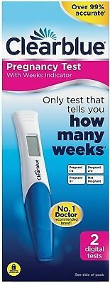 2 Clearblue Pregnancy Test HOW MANY WEEKS Over 99% Accurate