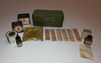 Vintage Boy Scouts of America Official First Aid Kit ~Johnson & Johnson