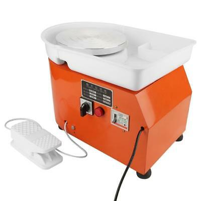 Electric Pottery Wheel Ceramic Machine For Work Clay Art Craft 24CM 350W