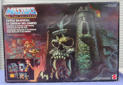 CASTLE GRAYSKULL motu MASTERS OF THE UNIVERSE vintage kompltett He-man Skeletor