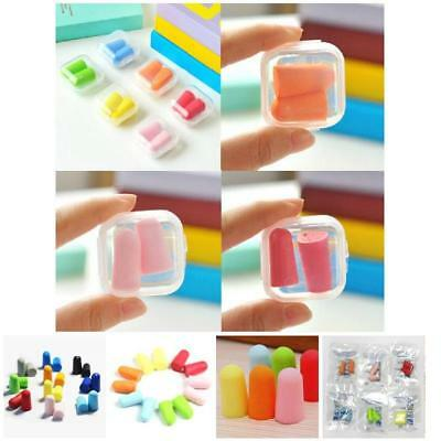 20Pcs Soft Foam Ear Plugs Anti Noise Snore Earplugs Comfortable For Study Sleep