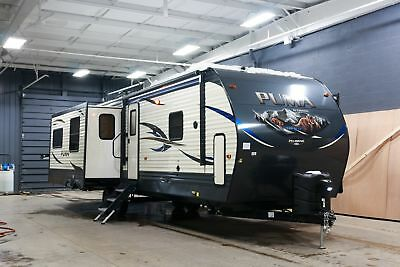 New 3 Slide Puma 31Rlqs Travel Trailer Perfect Rv For Snowbirds Or Seasonals