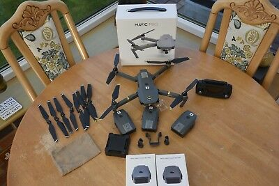 DJI Mavic Pro 4K Camera Drone Bundle