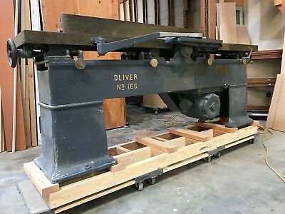 "Clean 12"" Oliver Jointer - Excellent Condition - Make me an offer."
