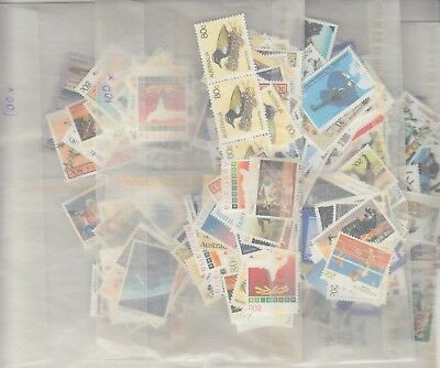 Australia postage stamps with gum face value $200   (200 x 80c and 200 x 20c)