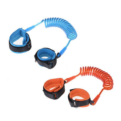 Anti-Lost Spring Wristband safety Harness Rope Belt Elastic Wire For Kids _BC
