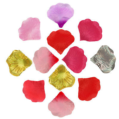 Rose Petals Confetti Bed Wedding Decoration Fake Flowers Table Scatter Pack Arts