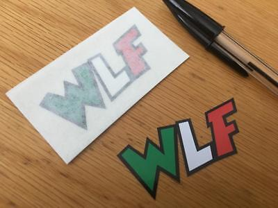 """Rossi """"THE DOCTOR"""" WLF Decals (Pair)"""
