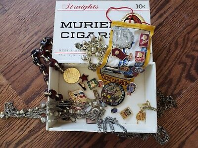 huge lot Russian Pins, travel souvenirs, jewelry, ribbon, charm bracelet medals