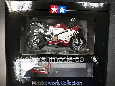 Tamiya 1/12 Ducati 1199 Panigale Finished Model S Tricolore 21161