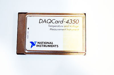 USA SELLER National Instruments NI DAQCARD-4350 182750C-01