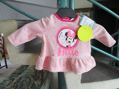 robe rose Taille 3Mois Marque Minnie Fille Neuf avec étiquette