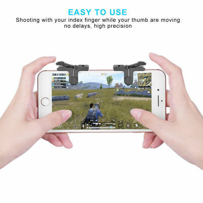 C9  Press Type Sensitive Shoot and Aim Buttons Phone Shooting Triggers