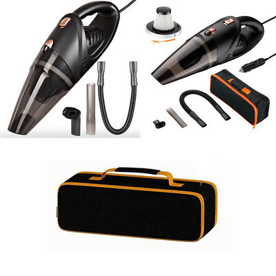 Car Vacuums Cleaner High Power Portable 12V 120W 5000pa Hepa Cord Hand Vaccum